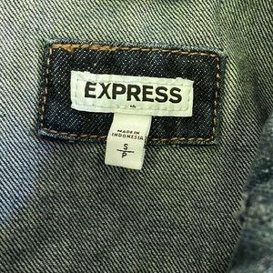 Express Jackets & Coats - Express Denim Vest S